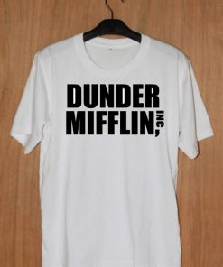 Dunder Mifflin Inc Unisex T-shirt Cheap Custom