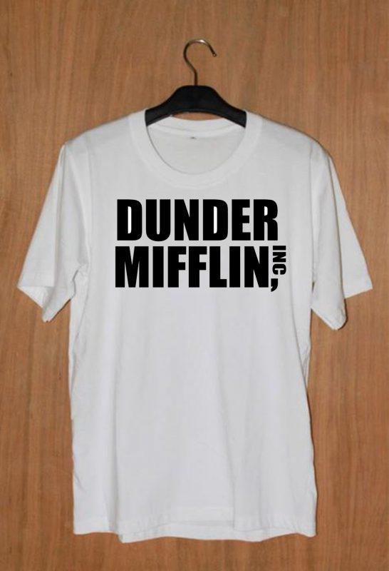 Dunder Mifflin Inc Unisex T-shirt Cheap Custom