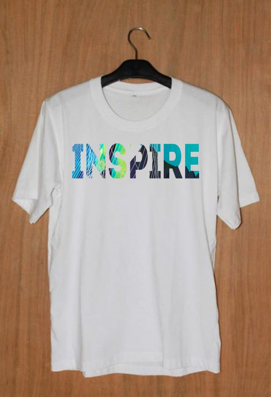 Inspire Unisex T-shirt Cheap Custom Unisex