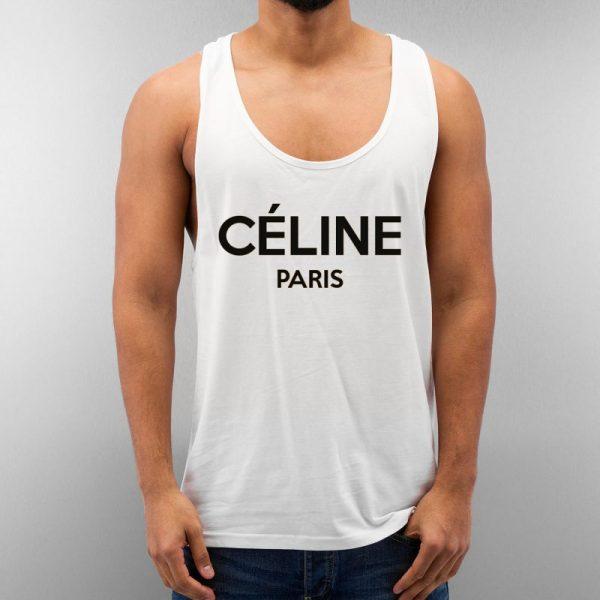 Celine Paris Unisex Tank Top Cheap Custom