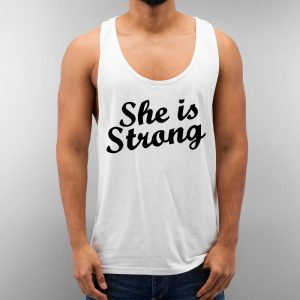 She Is Strong Unisex Tank Top Cheap Custom