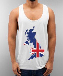 United Kingdom Unisex Tank Top Cheap Custom