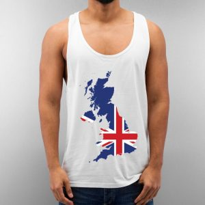 United Kingdom Unisex Tank Top Cheap Custom