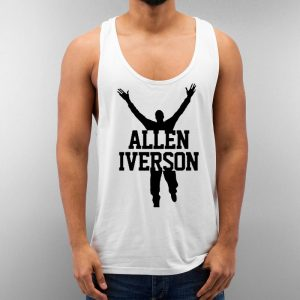 Allen Iverson Unisex Tank Top Cheap Custom