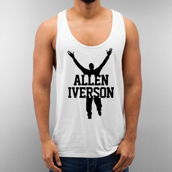 Allen Iverson Unisex Tank Top Cheap Custom
