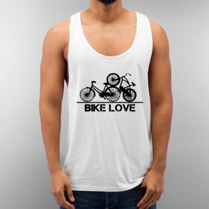 Bike Love Unisex Tank Top Cheap Custom