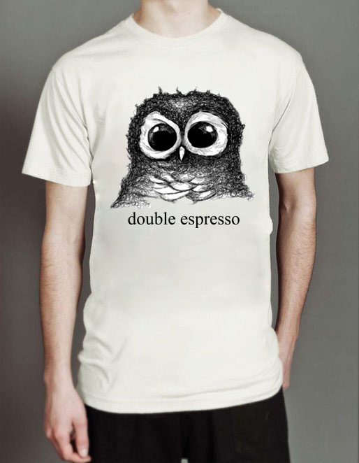 Double Espresso Unisex Tshirt Cheap Custom