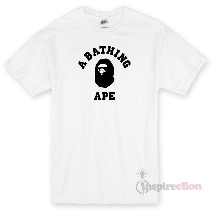 feacca81b A Bathing Ape Unisex T-shirt Cheap Custom - Inspireclion.com