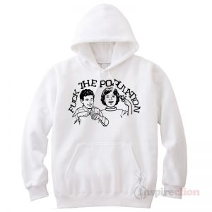 Fuck The Population Hoodie Cheap Custom