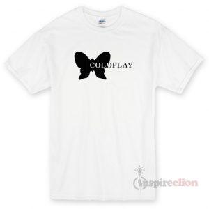 Coldplay Butterfly Unisex T-shirt Cheap Custom