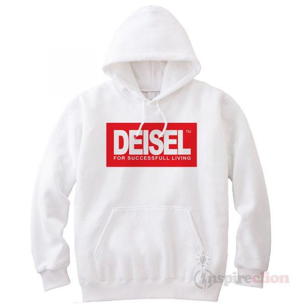 Deisel Diesel For Succesfull Living Hoodie Cheap Custom