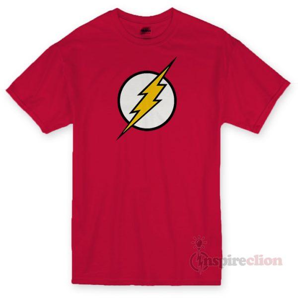 Flash Logo T-shirt Cheap Custom