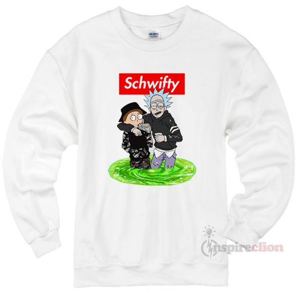 Schwifty Rick And Morty Sweatshirt Cheap Custom