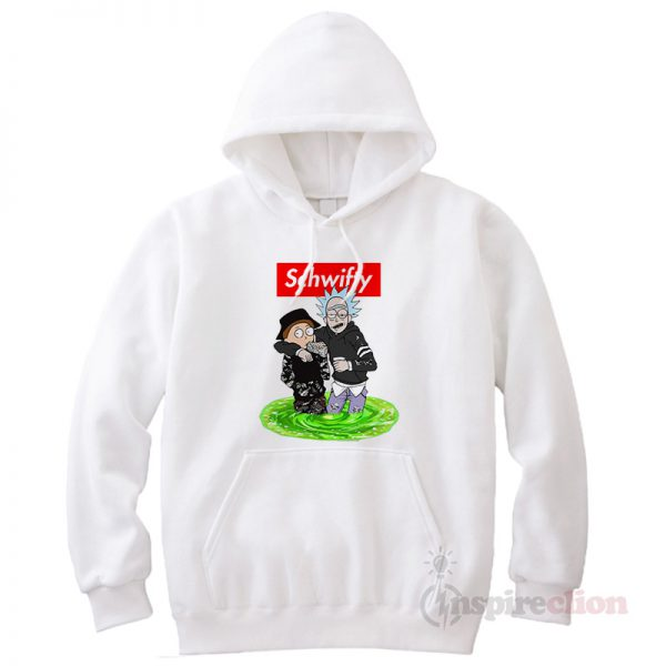 Schwifty Rick And Morty Hoodie Cheap Custom