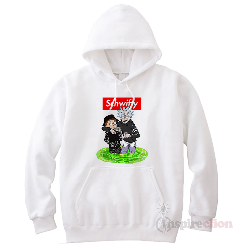 56ee4f10b14e Schwifty Rick And Morty Hoodie Cheap Custom - Inspireclion.com
