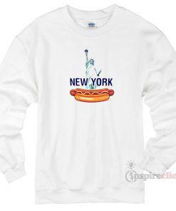 New York Hot Dog Sweatshirt Unisex