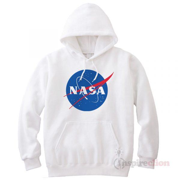 Nasa Logo Hoodie Unisex Cheap Custom