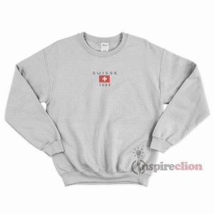 Suisse 1984 Sweatshirt Unisex Cheap Custom