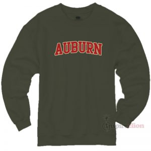 Auburn Sweatshirt Unisex Cheap Custom