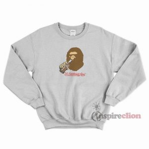 Bape x Coca Cola Ape Head Sweatshirt Cheap Custom