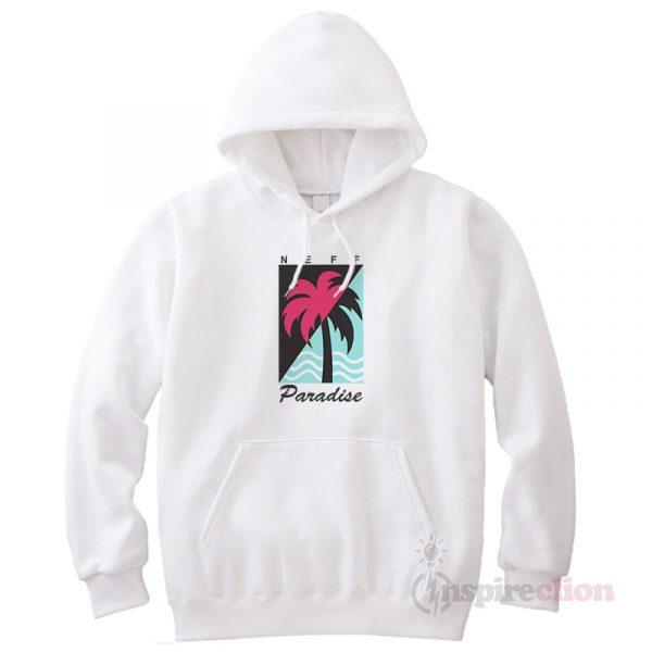 Neff Paradise Hoodie Cheap Custom Unisex