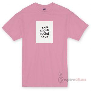 Social Social Club ASSC Logo T-shirt Cheap Custom