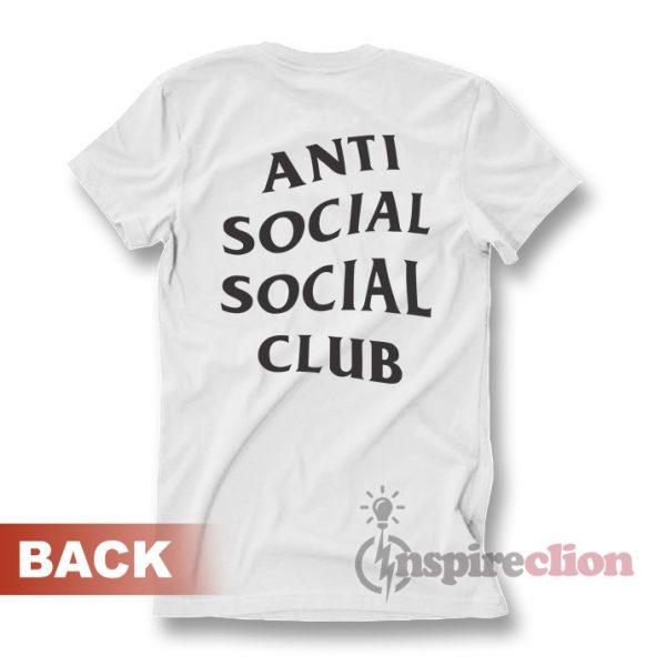 Anti Social Club Clothing Wear T-shirt Custom