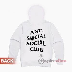 Anti Social Social Club x BAPE Hoodie