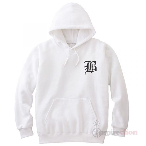 Buy Old English B Hoodie Cheap custom Unisex