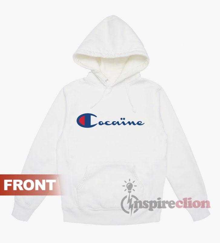 Custom Cocaine Cheap Hoodie Parody Champion shCBdtrQx