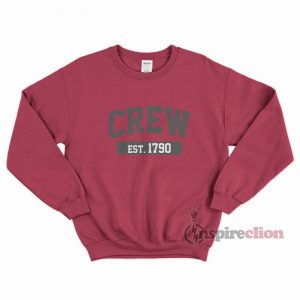 Crew Est 1970 Sweatshirt Unisex Cheap Custom