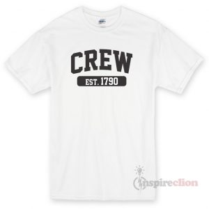 Crew Est 1970 Unisex T-shirt Cheap Custom