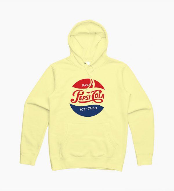 Drink Pepsi Cola Ice Cold vintage Logo Hoodie