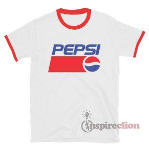 T.Shirt PEPSI Vintage Ancien Logo  XL L  man ou M for girl