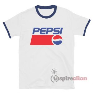 Pepsi Unisex Ringer T-shirt Cheap Custom