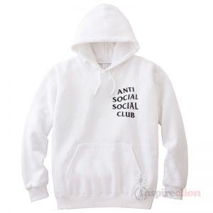 Anti Social Club Clothing Hoodie Cheap Custom