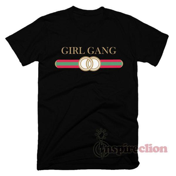 Girl Gang Replica Gucci T-shirt