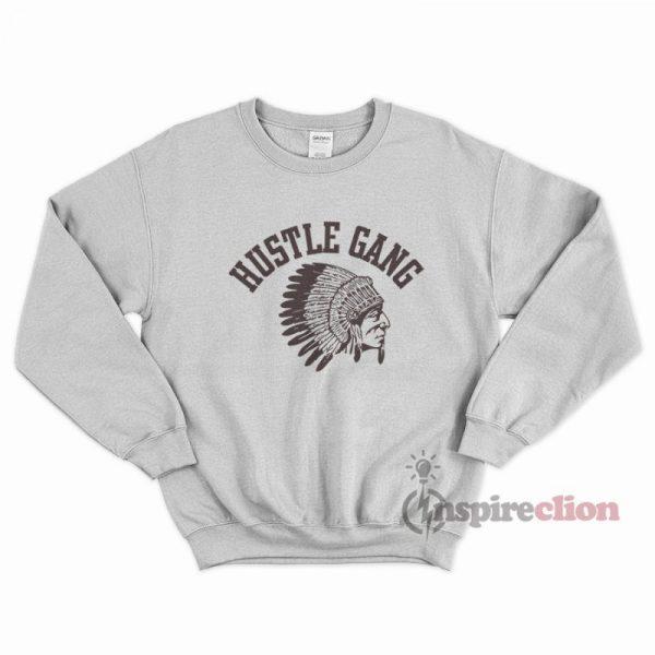 Hustle Gang Sweatshirt Unisex Cheap Custom