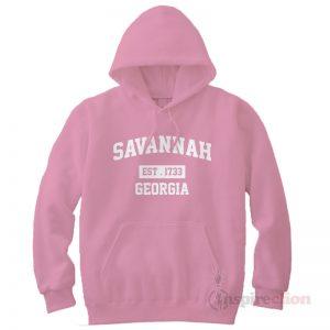 Savannah Est 1733 Georgia Hoodie Cheap Custom