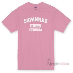 Savannah Est 1733 Georgia Unisex T-shirt Cheap Custom