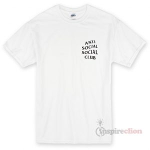 Anti Social Club Clothing T-shirt Cheap Custom