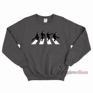 Silly Road Sweatshirt Unisex Cheap Custom