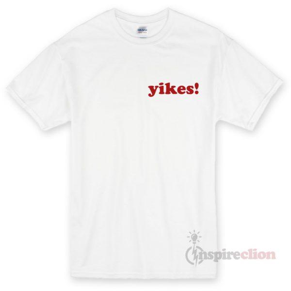 Yikes! Unisex T-shirt Cheap Custom