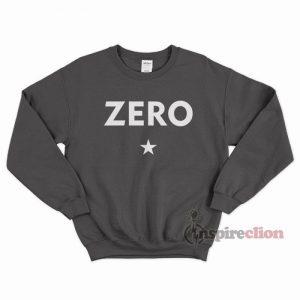Zero Stars Sweatshirt Unisex Cheap Custom