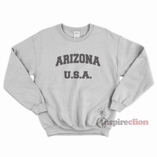 Arizona Sweatshirt Unisex Cheap Custom