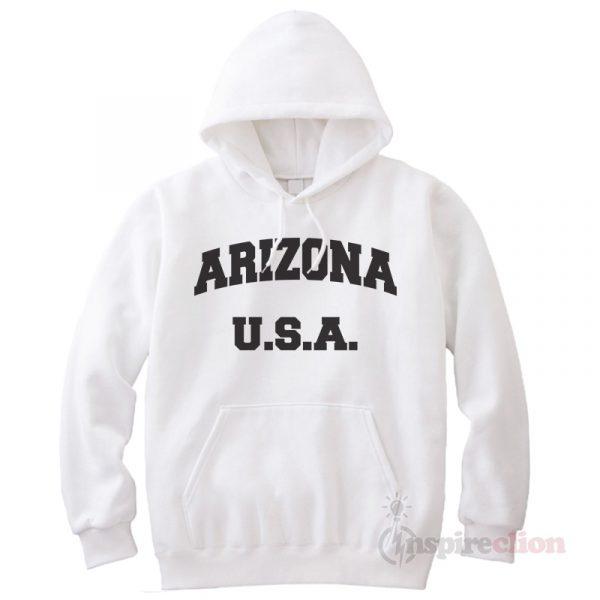 Arizona Hoodie Cheap Custom Unisex