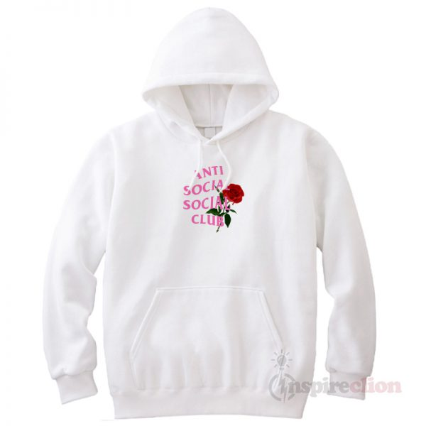 Anti Social Assc With Roses Hoodie Cheap Custom