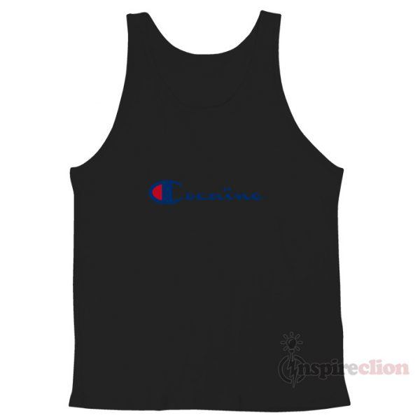 Cocain Champion Tank Top Unisex Cheap Custom
