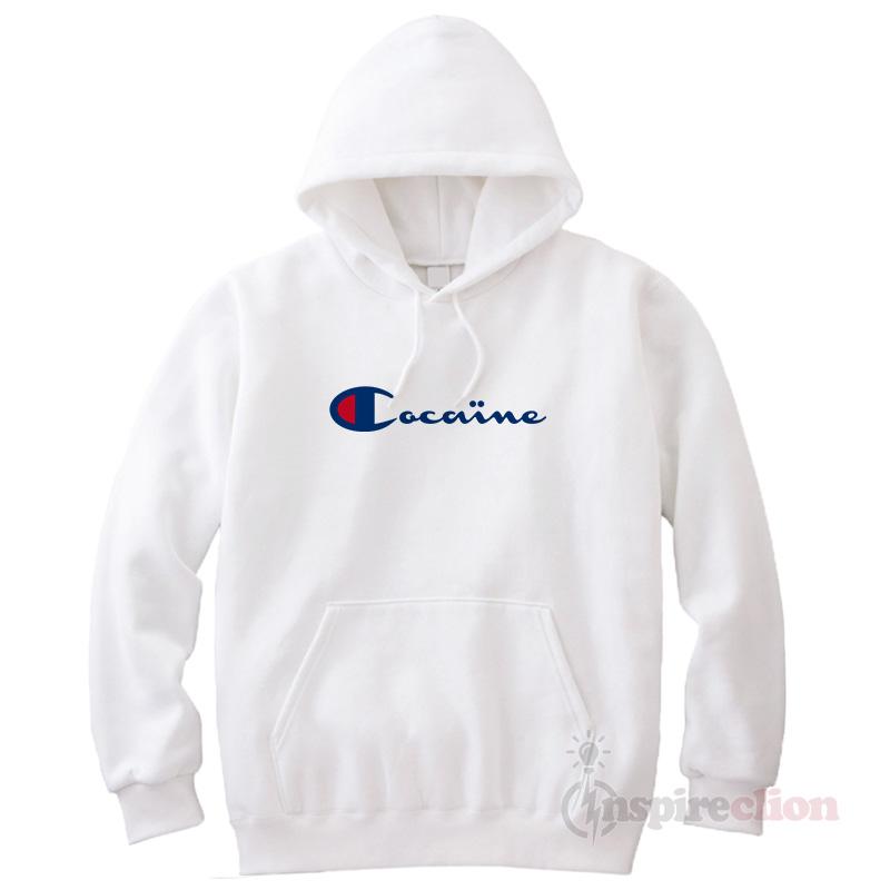Cocaine Hoodie Champion Cheap Custom Unisex - Inspireclion.com 4c319e32dcbb
