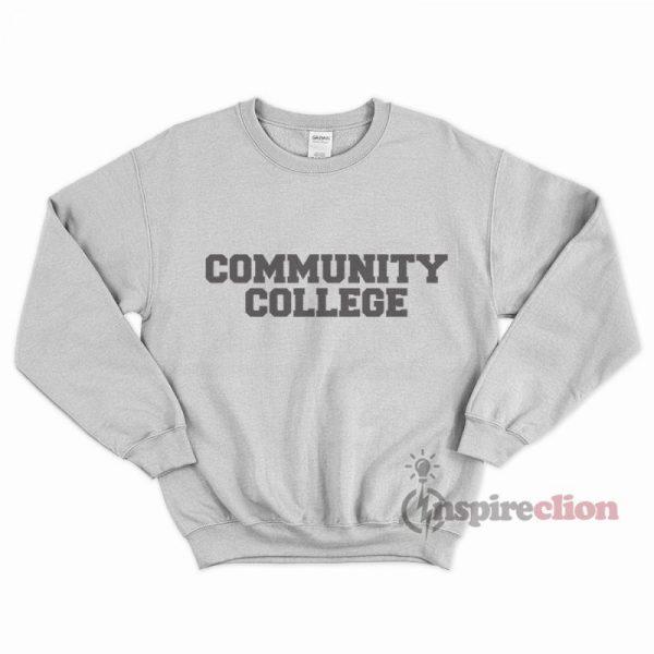 Community Collage Sweatshirt Unisex Cheap Custom